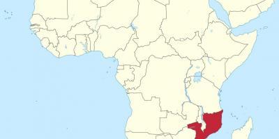 Cartina Africa In Italiano.Mozambico Mappa Mappe Mozambico Africa Orientale Africa